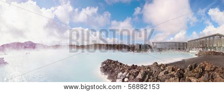 Blue Lagoon - famous Icelandic spa and Geothermal plant, Iceland