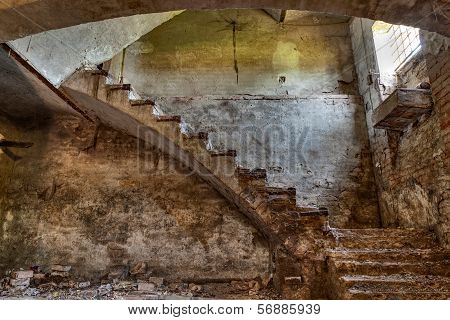 Basement Of An Old Country House