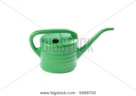 watering pot isolated on white background