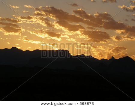 Sunrise On Mountains