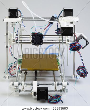 Assembling the Open Source 3D Printer Device