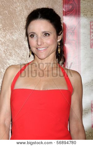vLOS ANGELES - JAN 12:  Julia Louis-Dreyfus at the HBO 2014 Golden Globe Party  at Beverly Hilton Hotel on January 12, 2014 in Beverly Hills, CA
