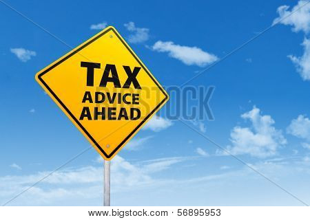 Tax Advice Concept