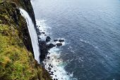 image of kilt  - Kilt Rock waterfall - JPG