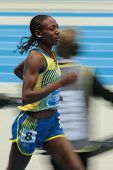GOTHENBURG, SWEDEN - MARCH 2 Adeba Aregawi (Sweden) wins the women's 1500m finals during the Europea