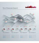 pic of 3d  - Vector 3D Paper Infographics - JPG