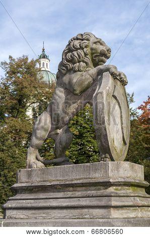 Rampant Lion.