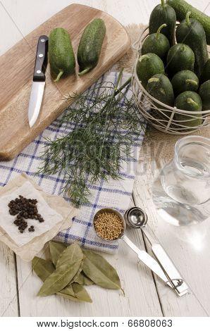 Ingredients To Perserve Pickled Gherkin