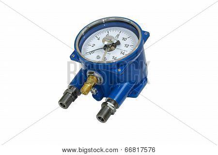 Electric Contact Pressure Gauge.