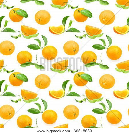 Pattern Of Oranges
