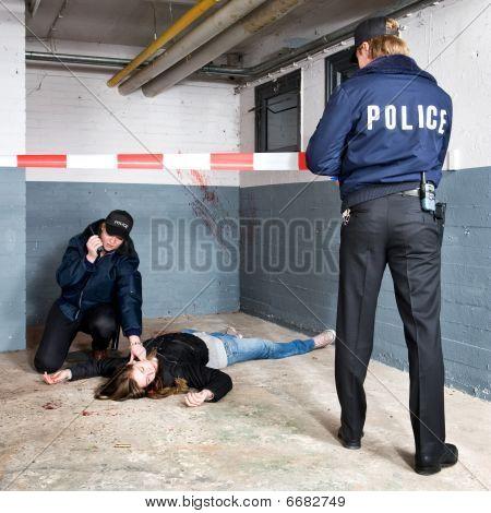 Securing A Crime Scene
