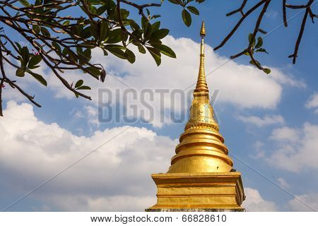 Wat Pra Tard Chang Kum Temple In Nan Province, Thailand