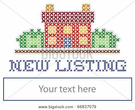 Real Estate New Listing Yard Sign