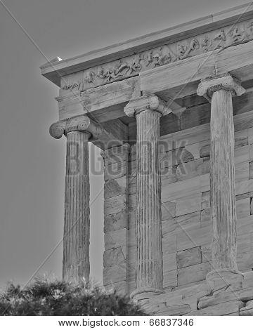 Athena Niki  temple Athens Greece