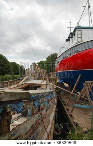 Refurbishing Boats