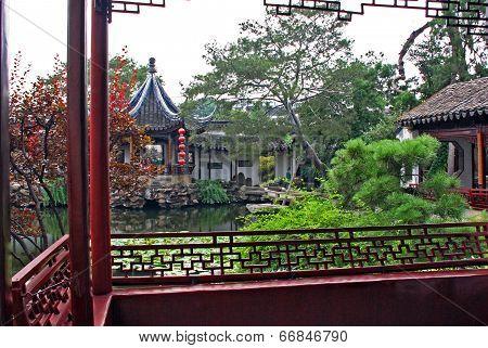 Master Of Net Garden In Suzhou, China