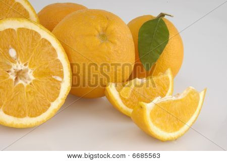 Oranges fruit in orange color
