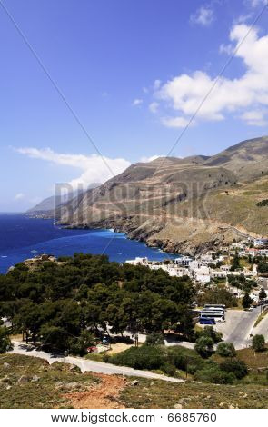 Chora Sfakion And Sweetwater Bay