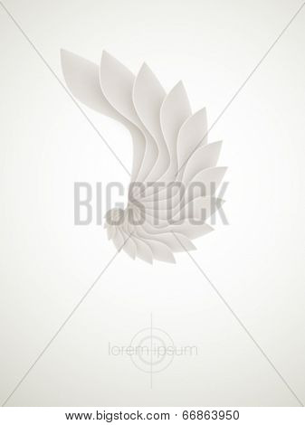 abstract vector shape