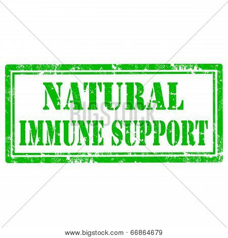 Natural Immune Support-stamp