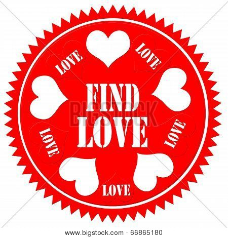 Find Love-label
