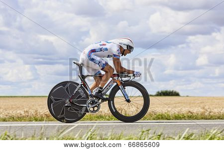 The Cyclist Sandy Casar