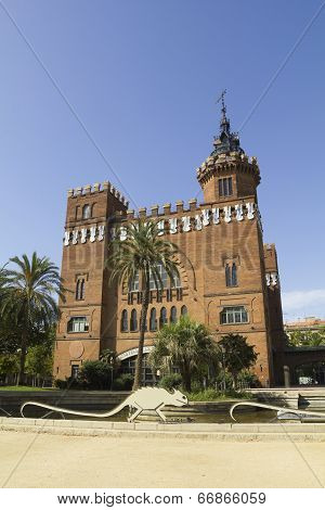 Ciutadella Park, Barcelona.