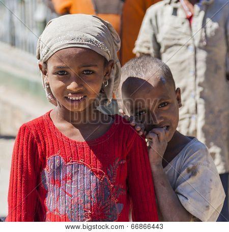 Ethiopian Children. Hirna. Ethiopia.