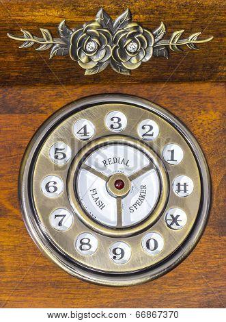 Vintage Phone Dial