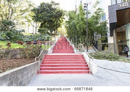 Jacob's Ladder staircase