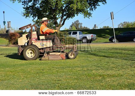 Cutting Grass