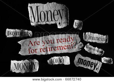 Retire Concept