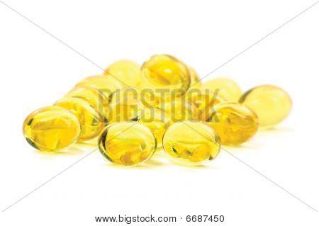 Vitamin Oil Capsules Macro