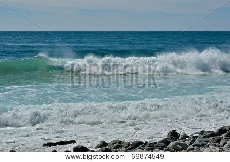 Waves On Sea