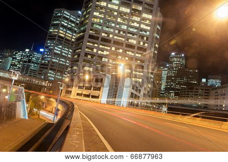 Sydney Night Scene
