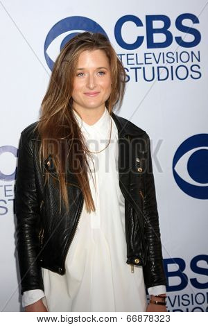 LOS ANGELES - MAY 19:  Grace Gummer at the CBS Summer Soiree at the London Hotel on May 19, 2014 in West Hollywood, CA