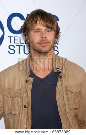 LOS ANGELES - MAY 19:  Eric Christian Olsen at the CBS Summer Soiree at the London Hotel on May 19, 2014 in West Hollywood, CA