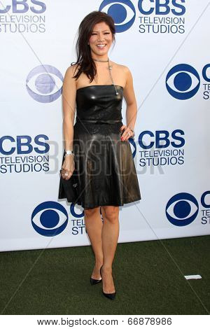 LOS ANGELES - MAY 19:  Julie Chen at the CBS Summer Soiree at the London Hotel on May 19, 2014 in West Hollywood, CA