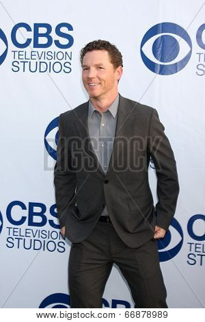 LOS ANGELES - MAY 19:  Shawn Hatosy at the CBS Summer Soiree at the London Hotel on May 19, 2014 in West Hollywood, CA