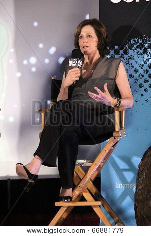 LOS ANGELES - JUN 1:  Sigourney Weaver at the Alien/Aliens Screening at Hero Complex Film Festival at TCL Chinese 6 Theaters on June 1, 2014 in Los Angeles, CA