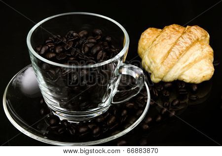 Cup Of Coffe Beans