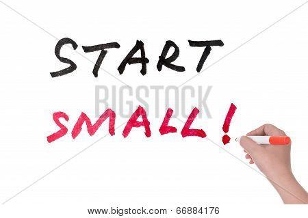 Start Small Words