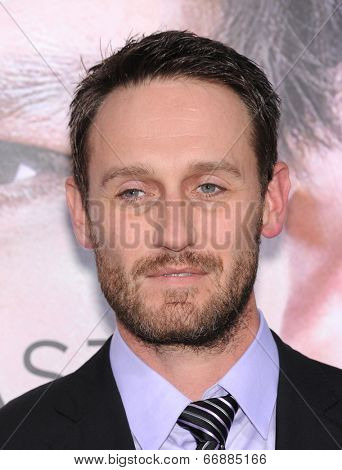 LOS ANGELES - APR 10:  Josh Stewart arrives to the 'Transcendence' Los Angeles Premiere  on April 10, 2014 in Westwood, CA