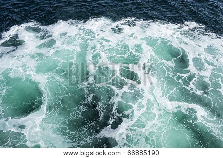 Patterns in Turquoise Sea Water