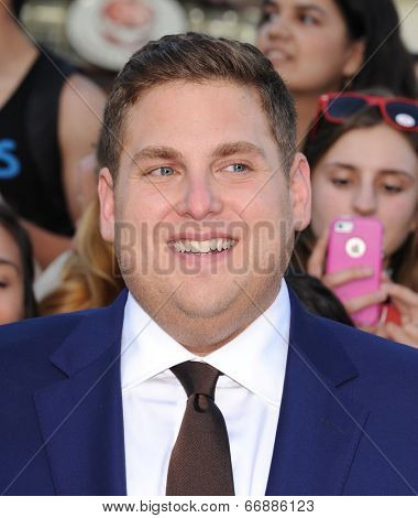 LOS ANGELES - JUN 09:  Jonah Hill arrives to the