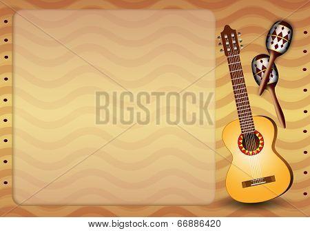 Guitar And Maracas