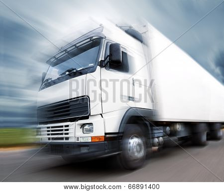 Truck and speed.