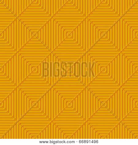 Seamless Orange Embossed Lines