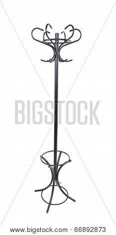 Metal coat hanger