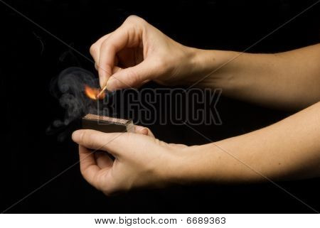 Match And Hands